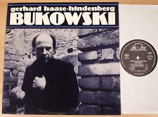 GERHARD HAASE-HINDENBERG - Bukowski  (R&M 1985 / ROCK-THEATER / LP MINT)