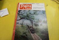 Trains & Travel Vintage Railroad Magazine November 1953 complete