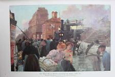 Histoire De la  Locomotion Terrestre - Les Chemins de  Fer - Eisenbahn