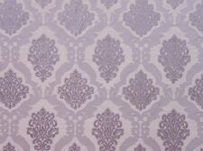 Upholstery Drapery Jacquard Damask Darious 100 Thistle  Fabrics sold yard 55""
