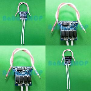 5pcs AC/DC LED Driver 1x1W 3x1W PT4115 Power Supply 12V~24V Light Lamp 1W 3W car