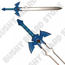 100% LARP SAFE Legend of Zelda Master Sword Fi Link Cosplay Fancy Dress Weapon