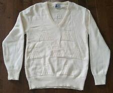 Vintage Mailman Custom Soft Goods USC Heavy Knitted Mens Medium Crewneck Sweater