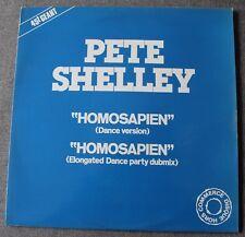Pete Shelley, homosapien, Maxi vinyl promo