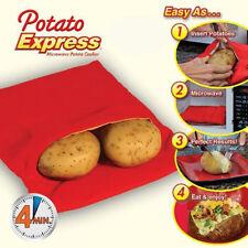 Sacchetto Cucina Patate Potato Express Cucinare Microonde 4 Min Sano Veloce 246