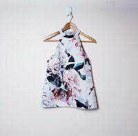 Cooper St Size AUS 8 US 4 Floral Print Halter Neck Top Shirt Blouse