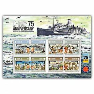 D-Day 75 Commemorative Sheetlet (CTO)