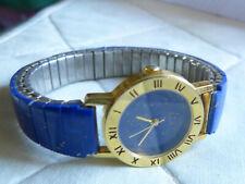 Lapis Lazuli Damen Armbanduhr, Lapis Uhrenarmband, Stretchband,