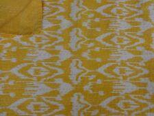 Indian Handmade Ikat Kantha Quilt Bohemian Bedding Queen Cotton Throw Blanket