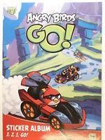 Angry Birds  Go ! Sticker Album 3,2,1, Go ! unbeklebt