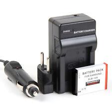 Cargador + Batería SLB-10A SLB10A 1050mAh Samsung Digimax SL420 SL502 SL620