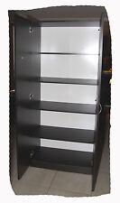 Budget Walnut 800mm Wide 4 Shelf Wardrobe or Pantry - BRAND NEW