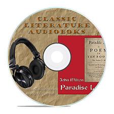 PARADISE LOST, JOHN MILTON, CLASSIC AUDIO MP3 CLASSIC AUDIOBOOK LITERATURE-A22