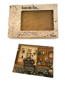 RECO 1998 Rooms with a View ARCHWAY 3D Wall Art Plaque New with Box