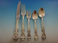 King Edward by Gorham Sterling Silver Flatware Set For 12 Service 67 Pcs Dinner