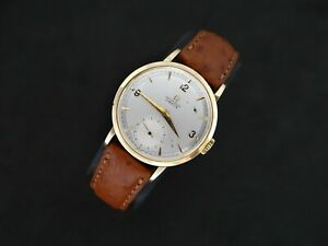 VINTAGE OMEGA CRONOMETRE 14K SOLID GOLD MANUAL WIND CAL. 30 T2 RG 1940's