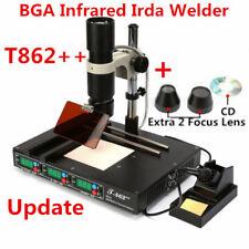 T862++ BGA Rework Station SMD SMT Infrared Solder Soldering Welder Machine 220V