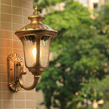 Outdoor Wall Light Garden Home Wall Sconce Proch Glass Lighting Modern Wall Lamp