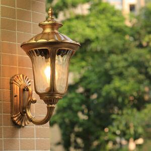 Outdoor Wall Light Garden Home Wall Sconce Proch Glass Lighting Modern Wall Lamp