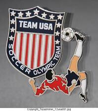 OLYMPIC PINS 2012 LONDON ENGLAND TEAM USA NOC SPORTS SOCCER FOOTBALL US LOGO