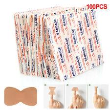 200pcs X Band-aid Essential First Aid Kit Emergency Bag Home Car Office Use
