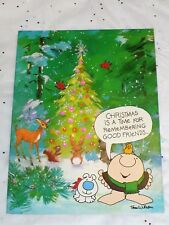 "1978 AGC CHRISTMAS ""ZIGGY"" TOM WILSON UNUSED GREETING CARD WITH ENVELOPE"