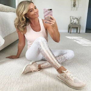 Ldaies High Waist Yoga Legging Fitness Training Sports Gym Stretch Trouser Pants