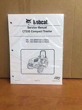 Bobcat CT335 Compact Tractor Service Manual Shop Repair Book Part # 6987078