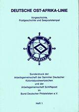 Katalog Deutsche Ost-Afrika-Linie Sonderdruck von 1976 - Schiffspost