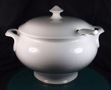 Royal Doulton Gold Concord Large Round 10 Pint Soup Tureen With Ladle - 1st Qua