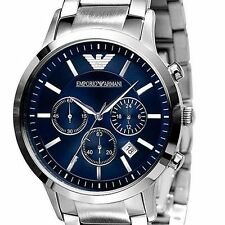 **NEW** MENS EMPORIO ARMANI SPORT CHRONOGRAPH BLUE WATCH - AR2448