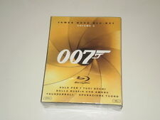 JAMES BOND BLU-RAY VOLME 2 -  BOX 3 BLU-RAY DISC - PAL - NUOVO! SIGILLATO! 007