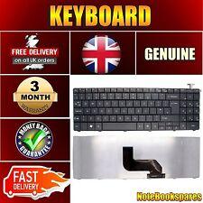 Nuevo lj65-au-055uk Packard Bell Easynote Laptop Teclado Negro Mate