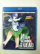HIGH SCHOOL OF THE DEAD.VOL 2 - CAPS 5 A 8 - EDICION COMBO BLURAY + DVD - 95MIN