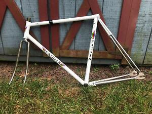 Faggin Track Frameset Frame Fork 52cm