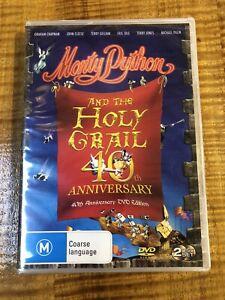 MONTY PYTHON & THE HOLY GRAIL 40TH ANNIVERSARY ED. R4 DVD.  BRAND NEW & SEALED.