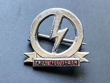 More details for original british union of fascists steel distinction badge buf pin oswald mosley