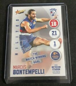 AFL Select Hilites Rd 16 Marcus Bontempelli Bulldogs Match Winning Goal 229/291