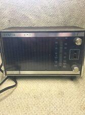 Vintage Zenith Solid State Model # C414W  AM/FM Clock Radio