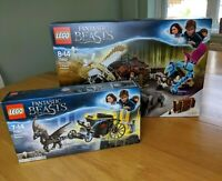 LEGO 75952  and 75951 Newt´s Case of Magical Creatures / Grindelwald's Escape