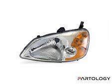 Headlight Left Side For Honda Civic Es Sedan 2000-2002
