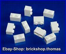 Lego 10 x piedras bloques de creación blanco - 3004-Basic Brick 1 x 2 White-nuevo/new