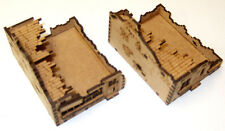 15mm WW2 RuinedTerraced Houses and Shop, FOW Flames of War
