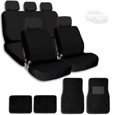 New Fabric Semi Custom Car Seat Covers Mat Split Rear Seat For Ford