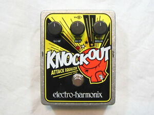 Used Electro-Harmonix EHX Knockout Attack Equalizer Reissue Effects Pedal