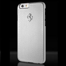 "FERRARI FEPEHCP6SI HARD CASE FACEPLATE per APPLE IPHONE 6 6s 4,7"" silver"