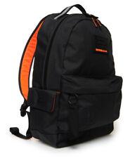 Superdry Rucksack Black Montana Backpack School Travel Work Bag Laptop