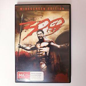 300 Movie DVD Region 4 AUS Free Postage - Action Spartans
