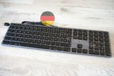 LMP Alu Mac USB Tastatur m. Ziffernblock Apple Num. Keyboard dt. (QWERTZ) SPACE