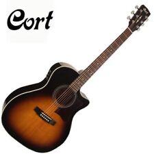 Cort GA1F-VB Grand auditorio abierto Pore Guitarra Acústica Electro-Fishman iSys +